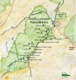 Luangwa Map