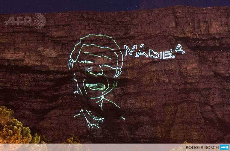 Madiba image on Table MNT